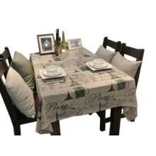 [Iron Tower] Country Style Linen Tablecloths/Table Cloths/Table Cover(120*170CM)