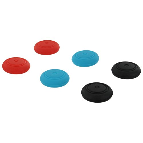 ZedLabz 6pc Nintendo Switch Joy-Con Thumb Grips | Joy-Con Thumbstick Caps