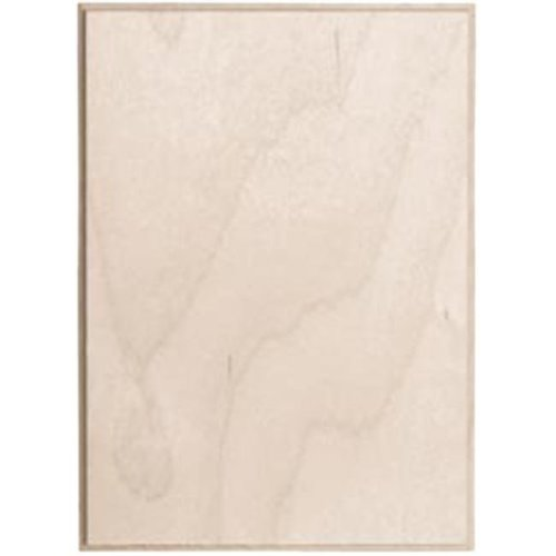 349231 Baltic Birch Rectangle Plaque-5 in. x 7 in.