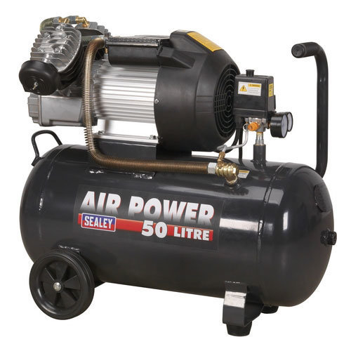 Sealey SAC5030VE 50ltr V-Twin Direct Drive Compressor 3hp