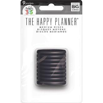 "Happy Planner Discs 1.25"" 9/Pkg-Black"