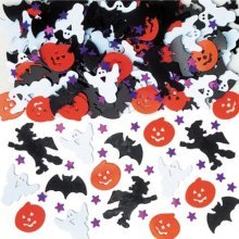Halloween Night Metallic Confetti Mix    - 14g - Accessories 36702
