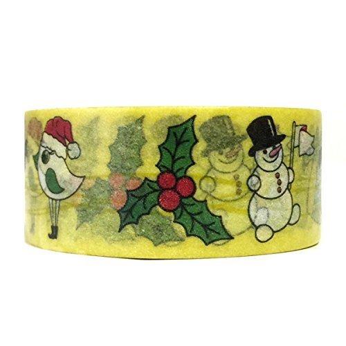 Wrapables Christmas Santa Claus Washi Masking Tape 10m x 20mm