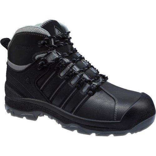 Delta Plus NOMAD Non-metallic Waterproof Safety Work Boots Black (Sizes 7-12)