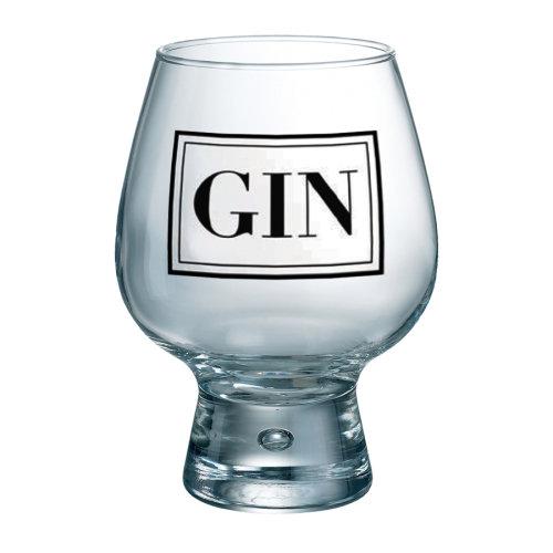 Durobor Fjord Individual Gin Glass, Black