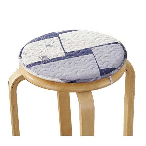 [D] Soft Round Stool Cover Bar Stool Seat Pad