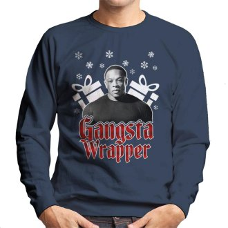 Gangsta Wrapper Dr Dre Christmas Men's Sweatshirt