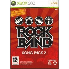 Rockband Song Pack 2 Xbox 360 Game