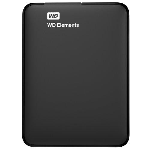 Western Digital Elements Portable USB Type-A 3.0 (3.1 Gen 1) 1000GB Black