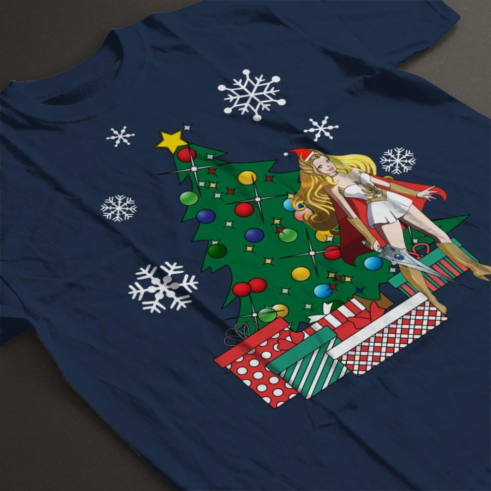 833d0e54e She Ra Around The Christmas Tree Men's T-Shirt on OnBuy