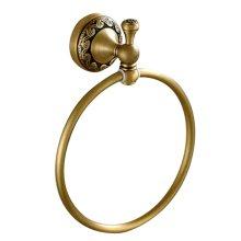 Antique Bronze Bathroom Accessories Retro Towel Ring European Style Towel Holder