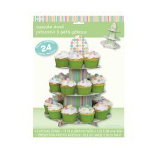 Unique Party Pastel Baby Shower Cupcake Stand