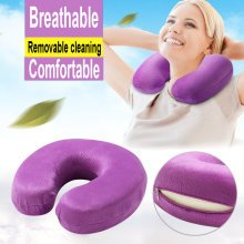 TRIXES Neck Cushion Purple