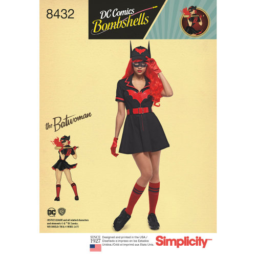Simplicity Costumes-6-8-10-12-14