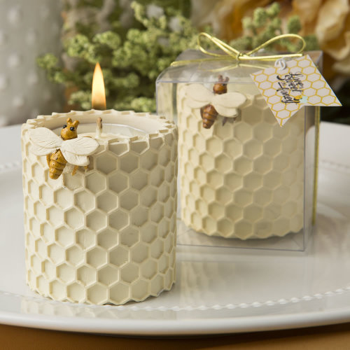 Honey Comb Design Tealight Candle Holder From Solefavors