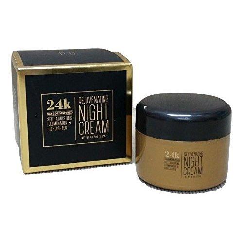 24K Gold Infused Illuminator Rejuvenating Night Cream 1 65 oz