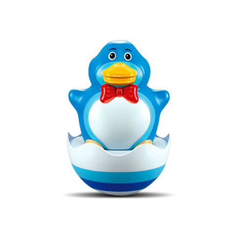 Lovely Duck Tumbler Roly Poly Toys Push and Pull Toys