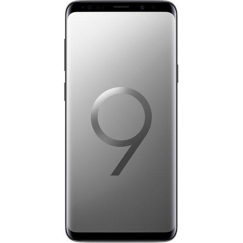 (Unlocked, 128GB) Samsung Galaxy S9+ Hybrid SIM - Titanium
