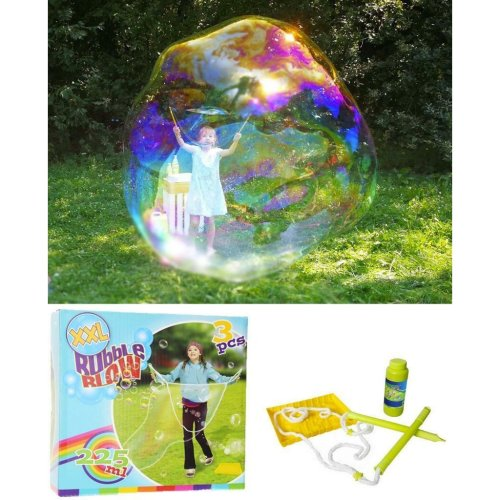 XXL Bubble Blow Maker + 225 ml Bubble Solution
