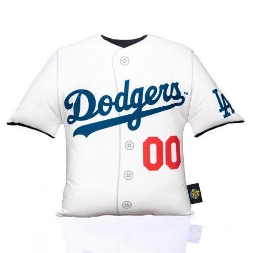 Pegasus Sports MLBBLG-ELAD 16 x 16 in. Big League MLB Replica Uniform Pillow - Los Angeles Dodgers