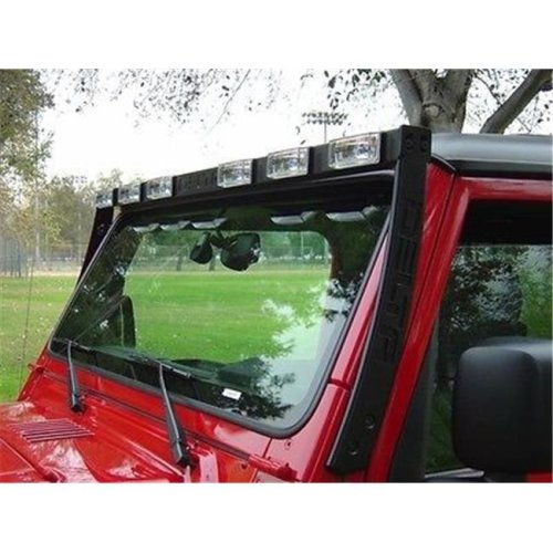Delta Light D80-019570TJ Sky Bar with 6 Xenon Driving Lights for Jeep, Black