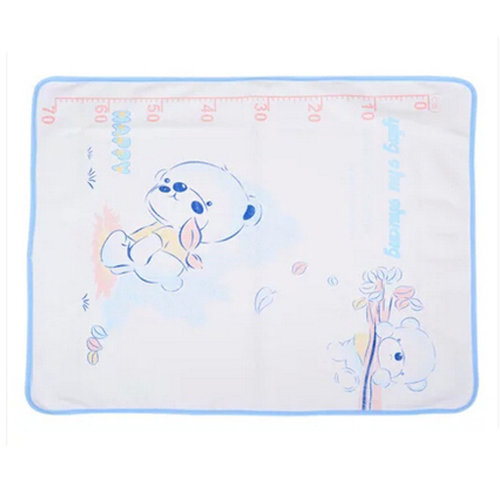 Lovely Baby Reusable Waterproof Infant Home Travel Urine Pad Cover?white)