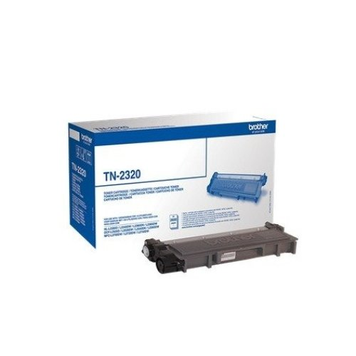 Brother Tn-2320 Toner 2600pages Black Laser Toner & Cartridge