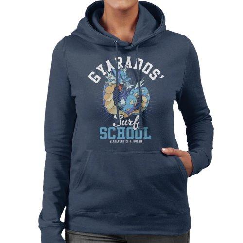 Gyarados Surf School Pokemon Women's Hooded Sweatshirt