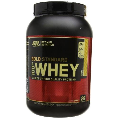 Optimum Nutrition Gold Standard 100% Whey Protein Powder - 908 g, Banana