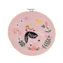 Full Set of Handmade Embroidery Starter Kit Also Educational Toys