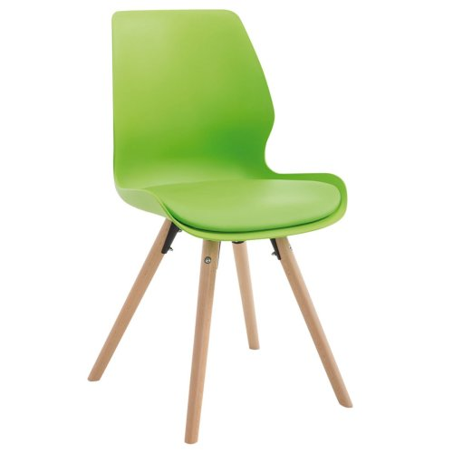 Visitor chair Perth plastic round Natura