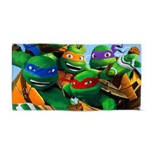 Teenage Mutant Ninja Turtles Beach Bath Towel Boys Kids Dimension
