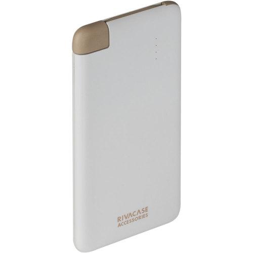 RIVACASE RivaPower Li-Polymer Portable Rechargeable Battery 4000mAh White
