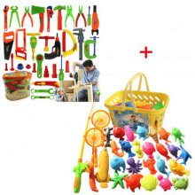Educational Toys Pretend & Play Toys Children Repair Kit&Fishing Tool