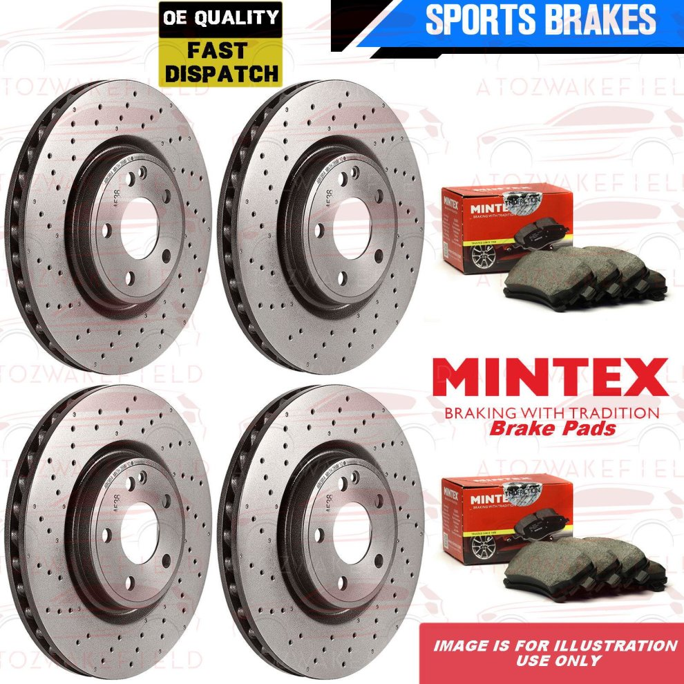 Fits BMW 1 Series F20 116d Genuine Delphi Front Disc Brake Pads Set