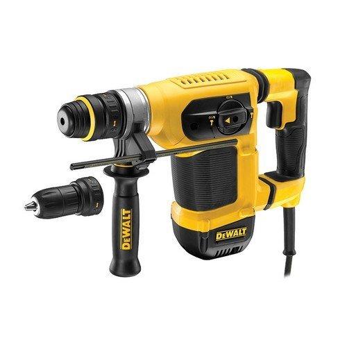 DeWalt D25414KT SDS+ Combi Hammer Drill Roto Stop Quick Chuck 1000 Watt 240 Volt
