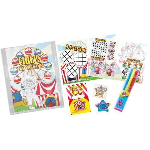 Children's Carnival-Themed Party Bag | Kids' Circus Gift Bag
