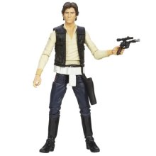 """Star Wars"" [Hasbro Action Figure] 6 inches ""black"" # 08 Han Solo (japan import)"