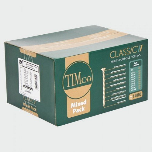 TIMco CLAFMP Classic Screw Mixed Pack