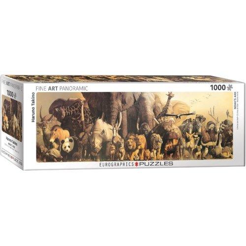 Eg60104654 - Eurographics Puzzle 1000 Pc - Noah's Ark by Haruo Takino