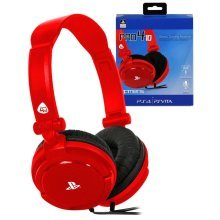 PRO4-10 Stereo Gaming Headset PS4 Red