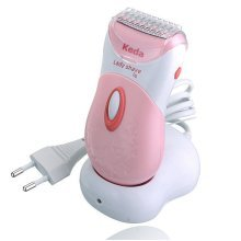 Keda KD-187 Electric Hair Remover Washable Dry Wet Rechargeable Trimmer Lady Shaver Epilator