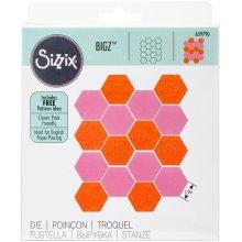 "Sizzix Bigz Dies Fabi Edition-Hexagons 1/2"" Sides"