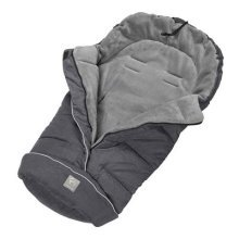 ClevaMama Universal Footmuff for Stroller (Polyester, Grey)