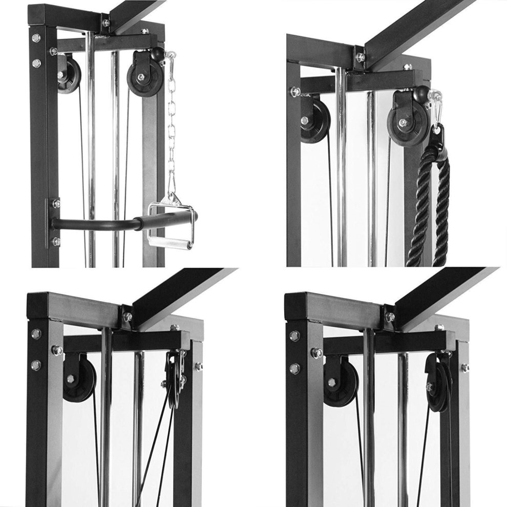 Gym Master 180kg Cable Crossover Machine Equipment Pull Up