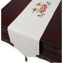 Cloth Linen Table Runner Coffee Table Cloth Drape Modern Tablecloth