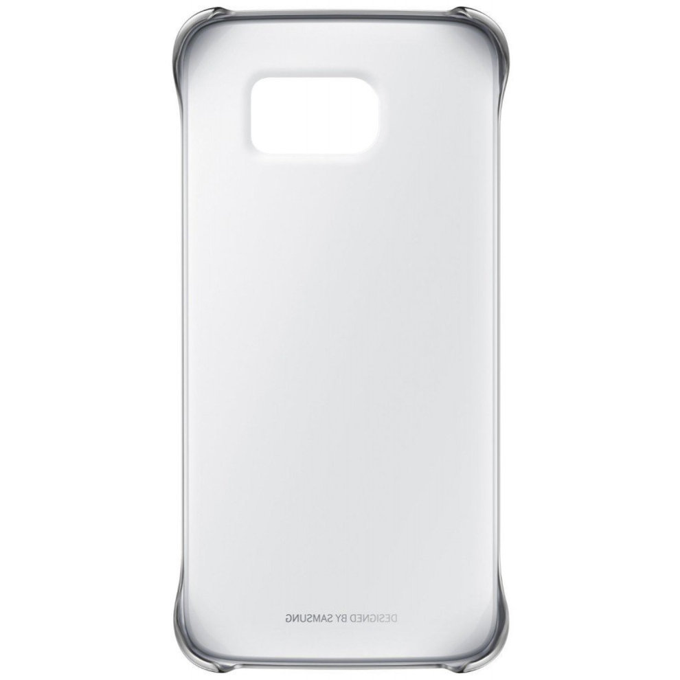 check out d67b8 87737 Metallic Silver/Clear Cover Shell for Galaxy S6 Edge G925F Samsung  Protective Case