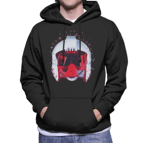 Original Stormtrooper Rebel Pilot Helmet Shatter Effect Men's Hooded Sweatshirt