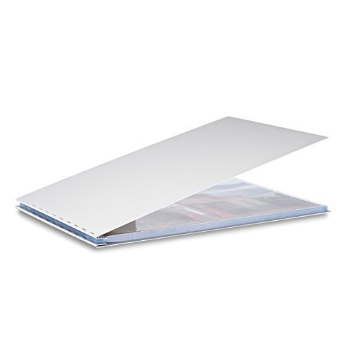 Pina Zangaro Machina Screwpost Binder 11x14 Landscape Includes 20 ProArchive Sheet Protectors 34049
