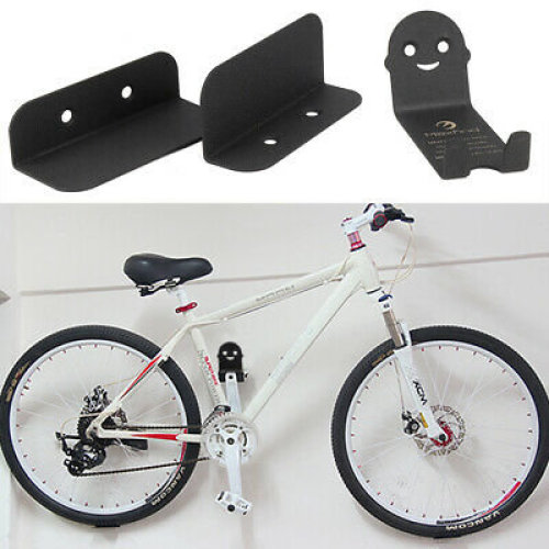 3PCS Bike Bicycle Cycling Pedal Tire Wall Mount Storage Hanger Stand Rack